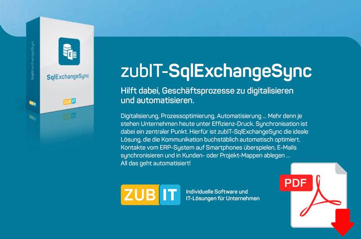 SQL-Exchange Sync